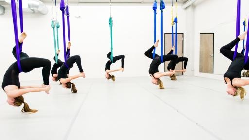 Risultati immagini per fly yoga